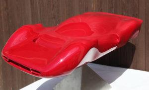 Sculpture voiture
